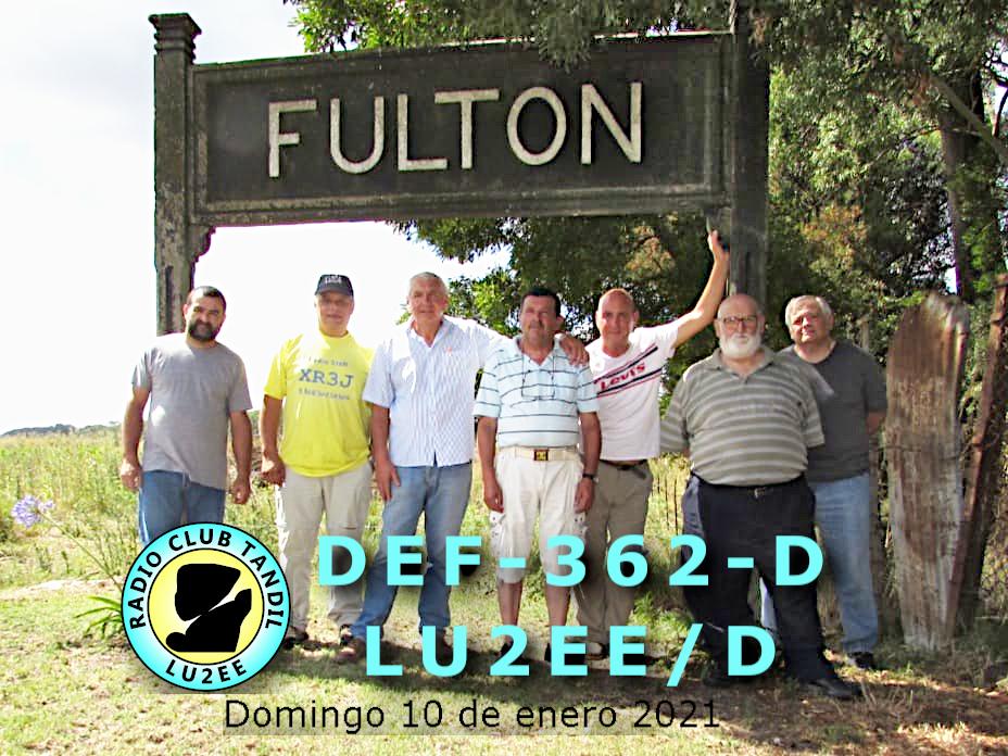 Activación Estación Fulton