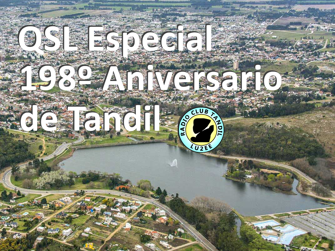 QSL 198º Aniversario Tandil